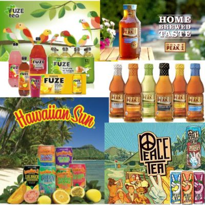 Refreshing Iced Tea Products